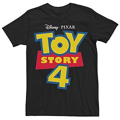 Men's Disney/Pixar Toy Story 4 Logo Tee