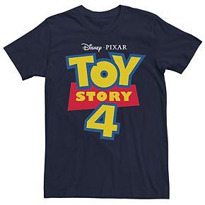 Men's Disney/Pixar Toy Story 4 Logo Tee