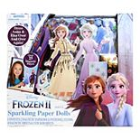 Disney's Frozen 2 Sparkling Paper Dolls Set