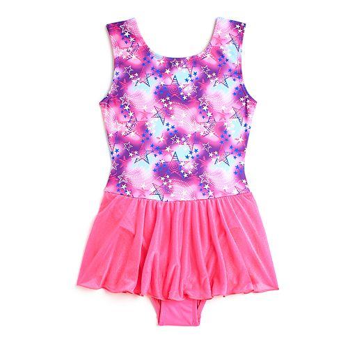 Girls 4-14 Jacques Moret Tie Dye Stars Skirtall