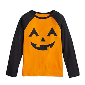 Boys 8-20 Family Fun? Halloween Jack-o'-lantern Graphic Tee