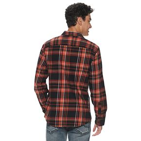 Men's Urban Pipeline? Button-up Flannel Long Sleeve Shirt