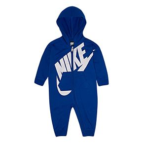 Baby Boy Nike French Terry Full-Zip Coverall