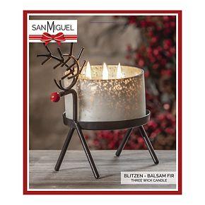 San Miguel Blitzen Reindeer Frasier Fir Candle Jar