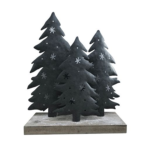 St. Nicholas Square® Metal Tree Figurine