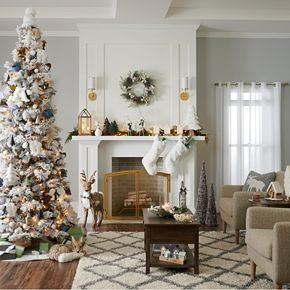 St. Nicholas Square® White Christmas Tree Figurine