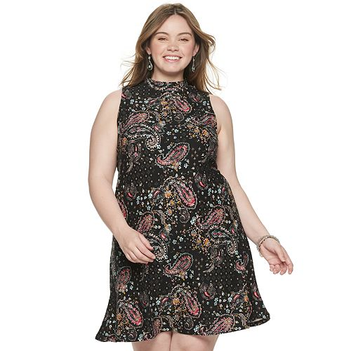 Juniors' Plus Size Mudd® Dress