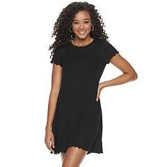1ce22e415 Juniors Black Short Sleeve Dresses, Clothing | Kohl's