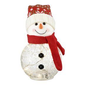 San Miguel LED Snowtop Snowman Table Decor