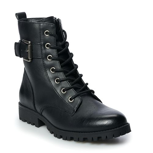 SO® Broccoli Women's Combat Boots