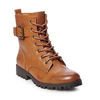 SO Broccoli Women's Combat Boots Deals
