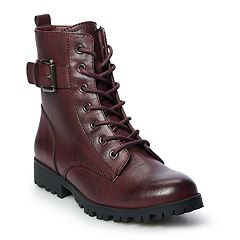b6f54408004 Womens Red SO Boots - Shoes | Kohl's