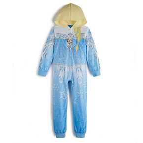 Disney's Frozen Girls 4-16 Elsa One-Piece Pajamas by Jammies For Your Families