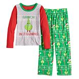 Girls 4-16 Jammies For Your Families® The Grinch Top & Bottoms Pajama Set