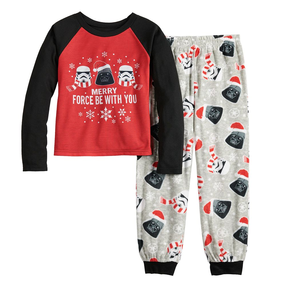 Girls 4-16 Jammies For Your Families Star Wars Top & Bottoms Pajama Set