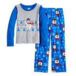 Girls 4-16 Jammies For Your Families® Frosty the Snowman Top & Bottoms Pajama Set
