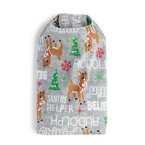 Pet Jammies For Your Families Rudolph Bodysuit