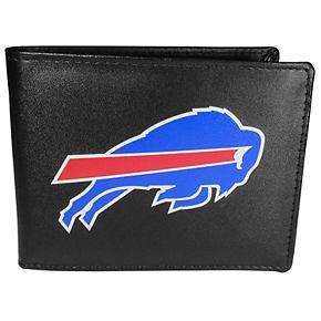 Men's Buffalo Bills Leather Bi-Fold Wallet