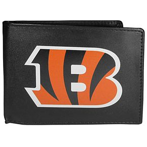 Men's Cincinnati Bengals Leather Bi-Fold Wallet