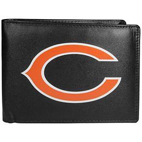 Men's Chicago Bears Leather Bi-Fold Wallet