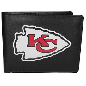 Men's Kansas City Chiefs Leather Bi-Fold Wallet