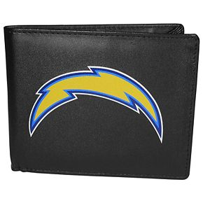 Men's Los Angeles Chargers Leather Bi-Fold Wallet