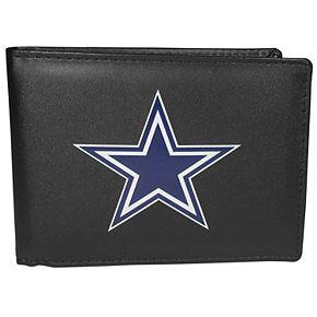 Men's Dallas Cowboys Leather Bi-Fold Wallet