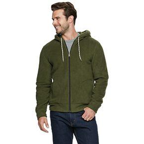 Men's SONOMA Goods for Life? Sherpa Full-Zip Fleece Hoodie