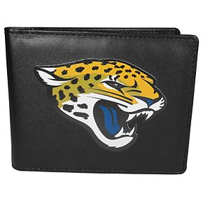 Men's Jacksonville Jaguars Leather Bi-Fold Wallet