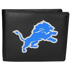 Men's Detroit Lions Leather Bi-Fold Wallet