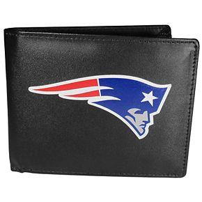 Men's New EnglandPatriots Leather Bi-Fold Wallet