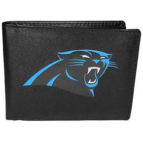 Men's Carolina Panthers Leather Bi-Fold Wallet