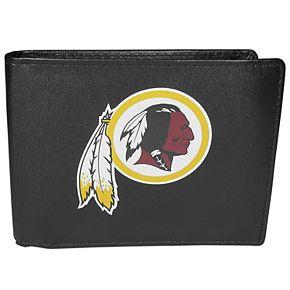 Men's Washington Redskins Leather Bi-Fold Wallet