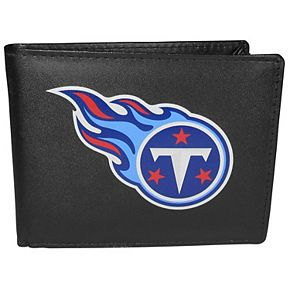 Men's Tennessee Titans Leather Bi-Fold Wallet