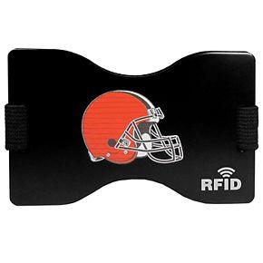 Men's Cleveland Browns Hardcase RFID Wallet