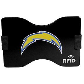 Men's Los AngelesChargers Hardcase RFID Wallet