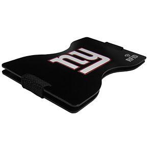 Men's New York Giants Hardcase RFID Wallet