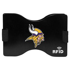 Men's Minnesota Vikings Hardcase RFID Wallet