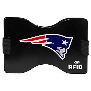 Men's New EnglandPatriots Hardcase RFID Wallet