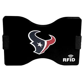 Men's Houston Texans Hardcase RFID Wallet