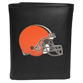 Men's Cleveland Browns Logo Tri-Fold Wallet
