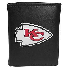 Men's Kansas City Chiefs Logo Tri-Fold Wallet