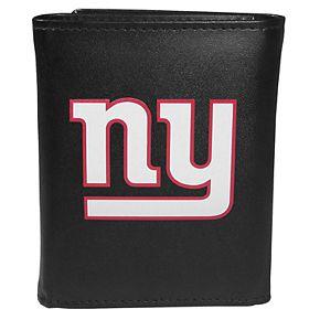 Men's New York Giants Logo Tri-Fold Wallet