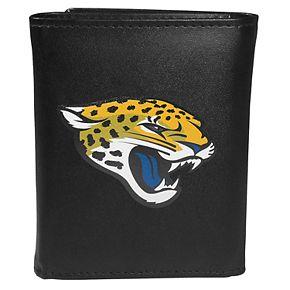 Men's Jacksonville Jaguars Logo Tri-Fold Wallet