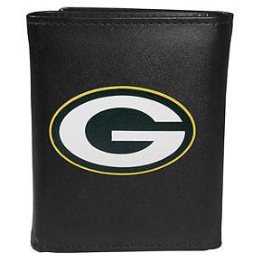 Men's Green Bay Packers Logo Tri-Fold Wallet
