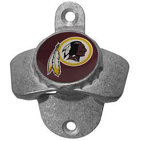Washington Redskins Wall-Mounted Bottle Opener
