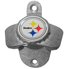 Pittsburgh Steelers Wall-Mounted Bottle Opener