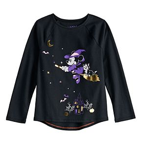 Disney's Minnie Mouse Girls 4-12 Halloween Graphic Tee by Jumping Beans®