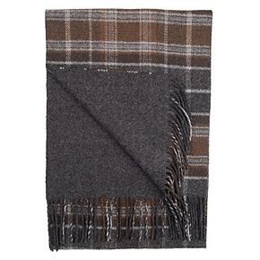 Men's Dockers® Plaid-to-Solid Reversible Scarf