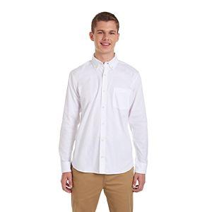 Men's Chaps Button-Down Stretch Oxford Shirt